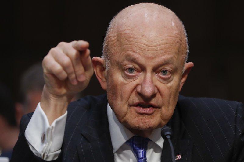 俄羅斯干預美國總統大選疑雲:前國家情報總監克萊佩出席聽證會(AP)