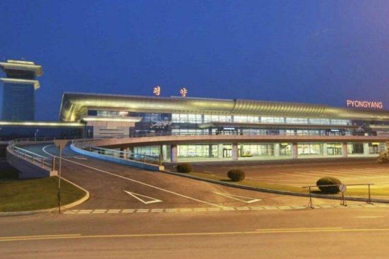 2015年北韓平壤有了嶄新的機場(BBC中文網)