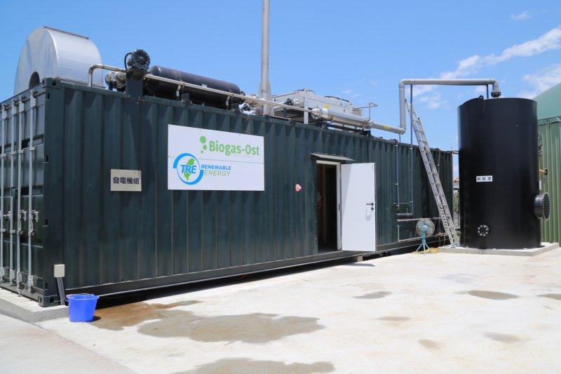 將小型養豬戶的沼氣集中在同一地區循環再利用,達到循環農業效益。〔圖/嘉義縣政府提供〕