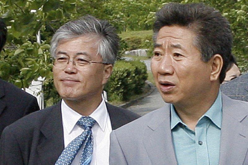 文在寅在盧武鉉執政時期是他最信任的二把手。