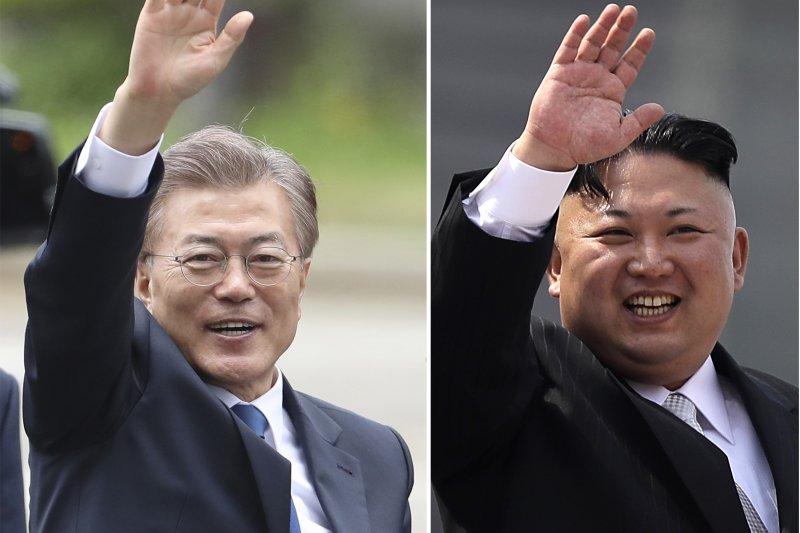 文在寅何時會跟金正恩見面,重現金大中、盧武鉉與金正日舉行南北韓領袖會談的盛況?(美聯社)