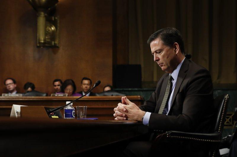 美國聯邦調查局(FBI)局長柯密(James Comey)2017年5月9日遭川普總統解職(AP)
