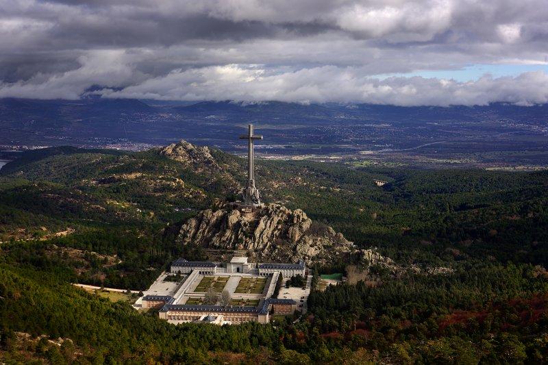 戰死者之墓現在已成西班牙旅遊景點。(圖/Jorge Díaz Bes@wikipediaCC BY-SA 3.0)