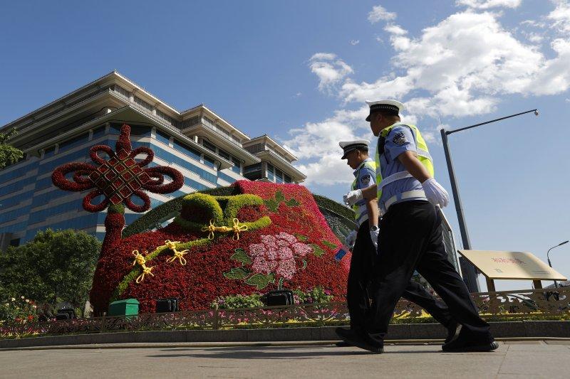 一帶一路國際合作高峰論壇(一帶一路峰會)14日在北京登場(AP)