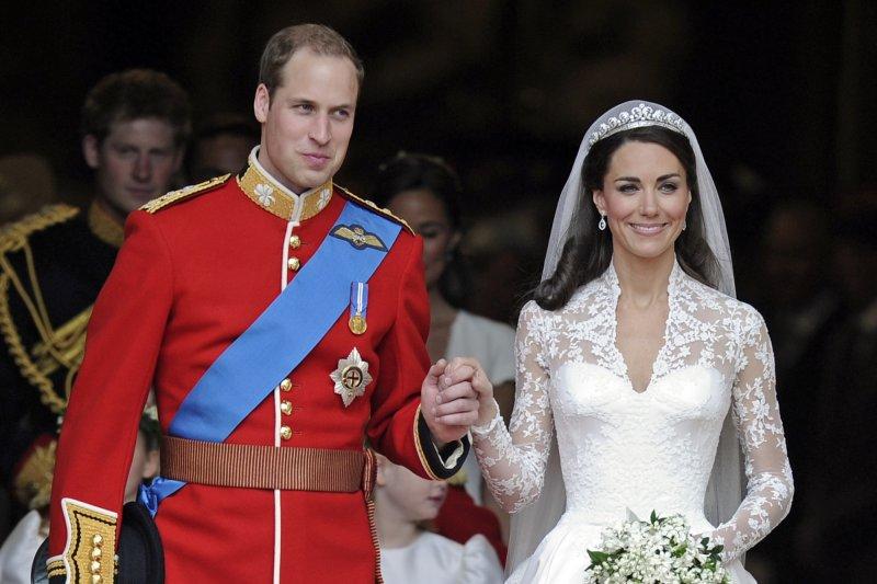 英國威廉王子、凱特王妃的世紀大婚(AP)
