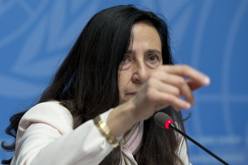 聯合國發言人委洛奇(Alessandra Vellucci)表示,媒體必須是來自聯合國承認的國家,才能申請到採訪證。(UN Geneva@Flickr / CC BY-NC-ND 2.0)
