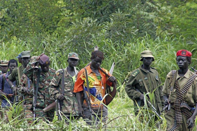 非洲中部的剛果民主共和國(Democratic Republic of the Congo)長年戰亂(AP)