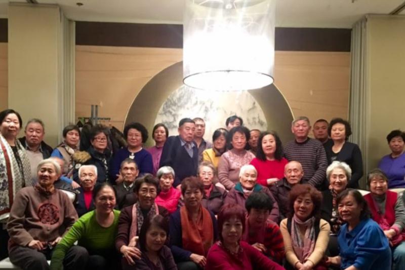 天安門事件部分罹難者的母親2016年末在北京相聚(美國之音)