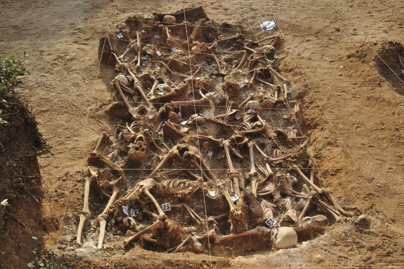 西班牙內戰時期的集體墳塚,受害者是遭佛朗哥部隊處決的共和派人士(Mario Modesto Mata@Wikipedia / CC BY-SA 4.0)