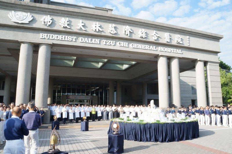 大林慈濟醫院面臨評鑑時刻,這次評鑑目標全力邁向醫學中心。〔圖/大林慈濟醫院提供〕