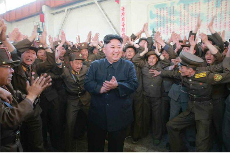 北韓5月14日進行彈道飛彈試射,最高領導人金正恩到場視察(勞動新聞)