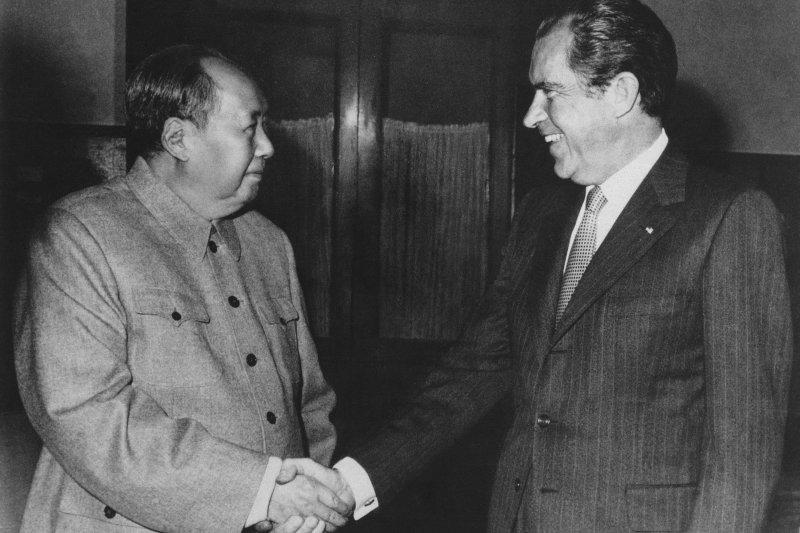 美國總統尼克森在緊急國家安全會議上說,蘇聯在中蘇邊界更具侵略性,蘇聯「將中國打趴」(knock-off China)不符合美國的長遠國家利益。(資料照,AP)