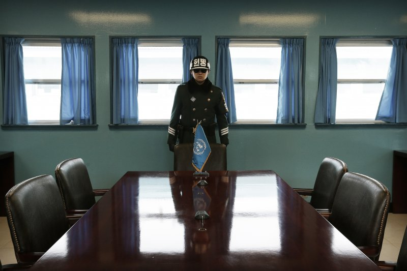 兩韓領導人世紀峰會「文金會」將在板門店舉行(美聯社)