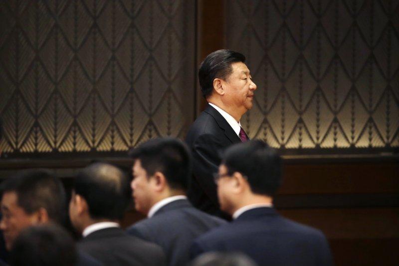 中國國家主席習近平提出的「一帶一路」橫跨歐亞非三洲,規模龐大。(美聯社)