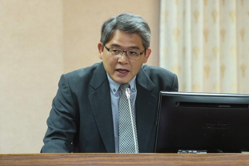 20170517-內政部次長花敬群17日至立院司法法制委員會備詢。(顏麟宇攝)