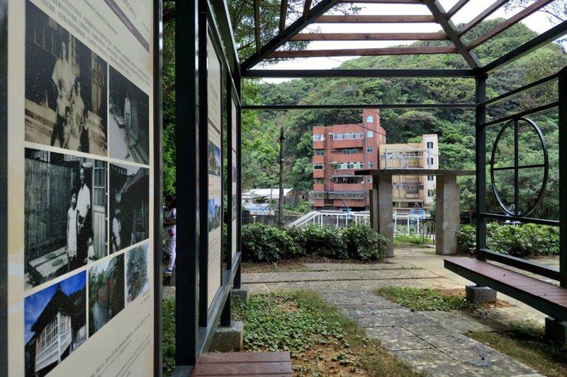 以框線勾勒日式宿舍意象,穿越古今。(圖/海科館提供)