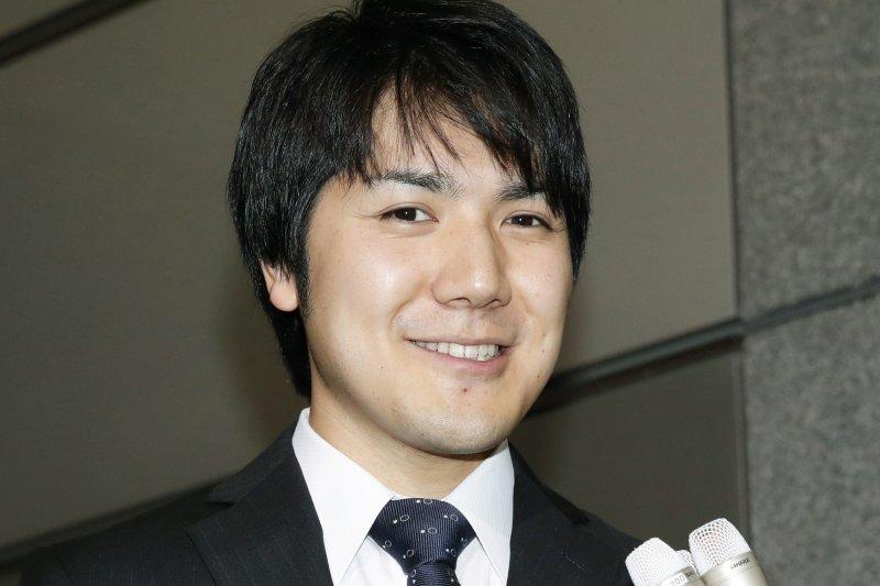 日本明仁天皇的長孫女真子公主的未婚夫小室圭(AP)