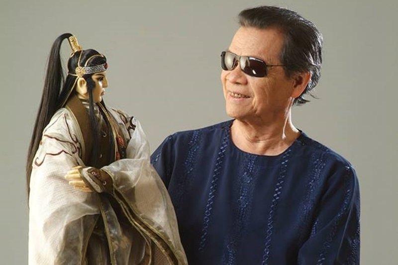 黃俊雄除了是第一位將布袋戲拍成電影,更將電視布袋戲推向高峰。(圖/黃俊雄 (黃俊雄布袋戲)@facebook)