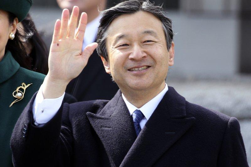 將於5月1日即位的日本天皇德仁。(美聯社)