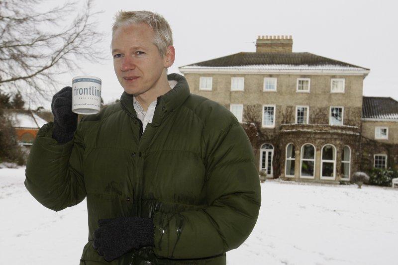 揭密網站「維基解密」創辦人阿桑奇(Julian Assange)(AP)