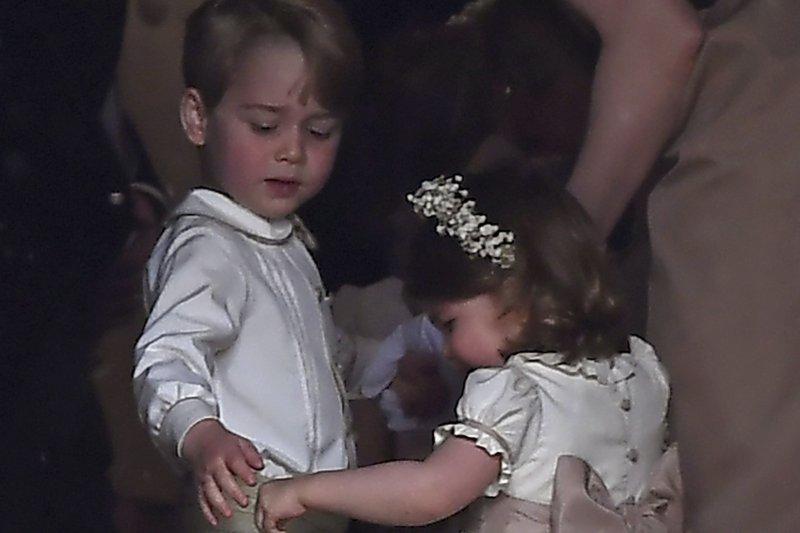 英國凱特王妃的妹妹琵琶.密道頓(Pippa Middleton)5月20日完成終身大事,小公主夏綠蒂當伴娘,小王子喬治當花童(AP)