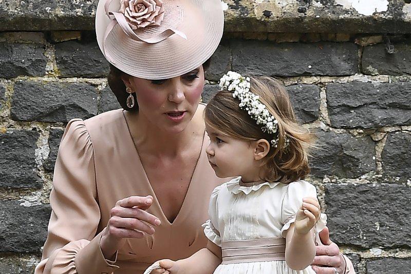 英國凱特王妃的妹妹琵琶.密道頓(Pippa Middleton)5月20日完成終身大事,小公主夏綠蒂擔任伴娘(AP)
