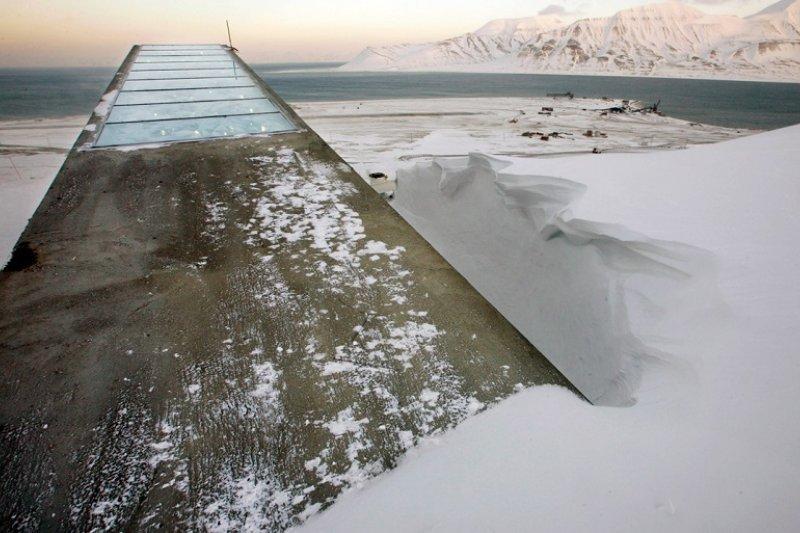 全球種子庫被冰封了。(資料照/美聯社)