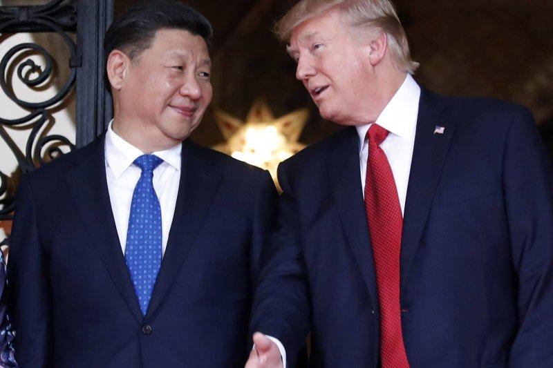 川普政府將中國崛起與恐怖主義並列為對美國在國際間生存的重大挑戰。(資料照,美聯社)