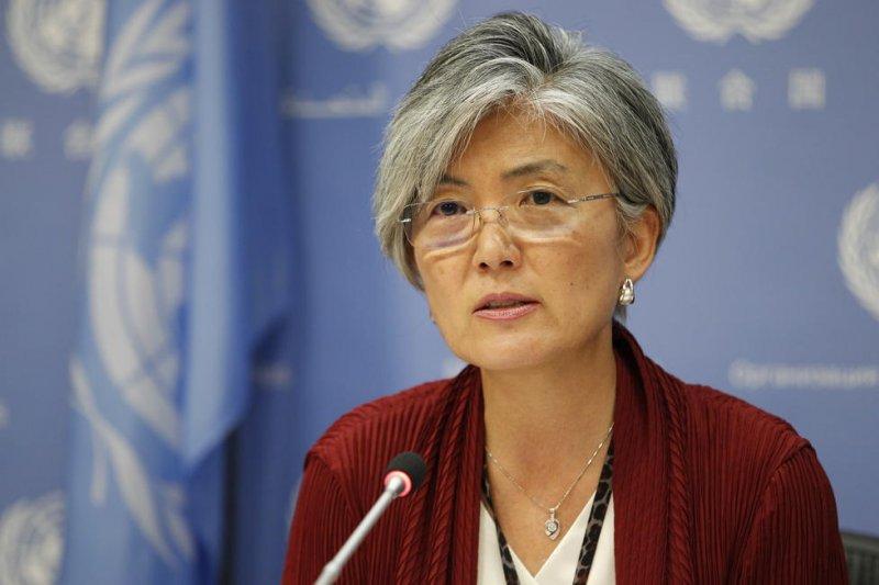 南韓新任外長康京和。