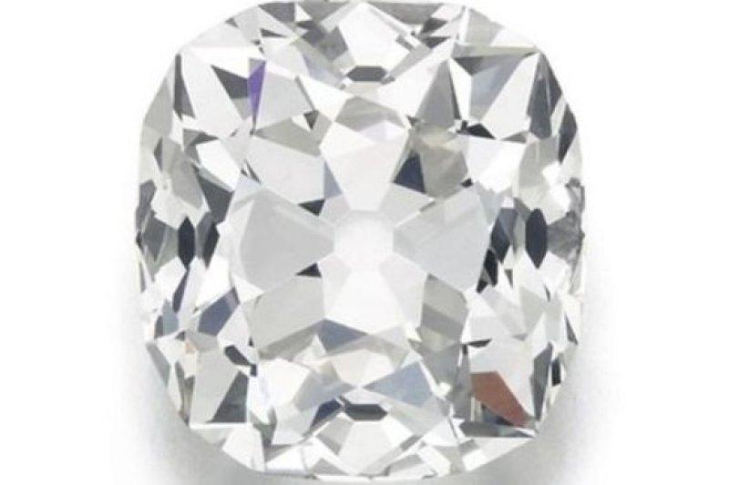 這枚鑽石據信是19世紀的古鑽。(BBC中文網)