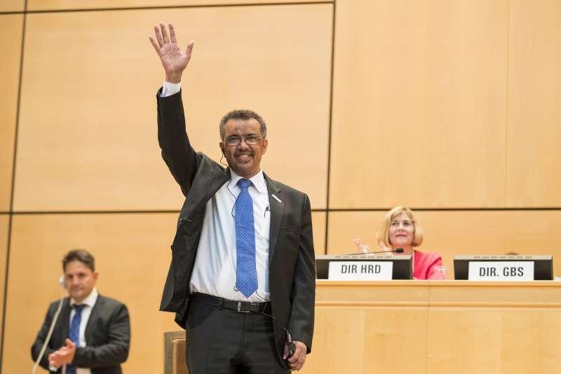 WHO總幹事:衣索比亞籍的譚德塞(AP)