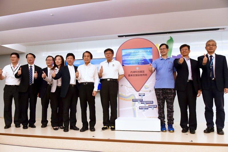 台北市長柯文哲表示,BOT的精神不是政府「零支出」,而是要政府去輔導民間的力量,包括企業跟個人可以充分發揮最大力量。(台北市政府提供)