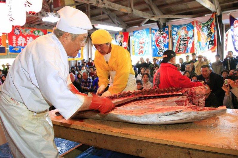 大間鮪魚來自青森縣大間町,號稱是鮪魚中的夢幻逸品。(青森觀光網站)