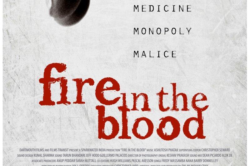 「無國界醫生電影週末」,《無可救藥》(Fire in the Blood)(MSF網站)
