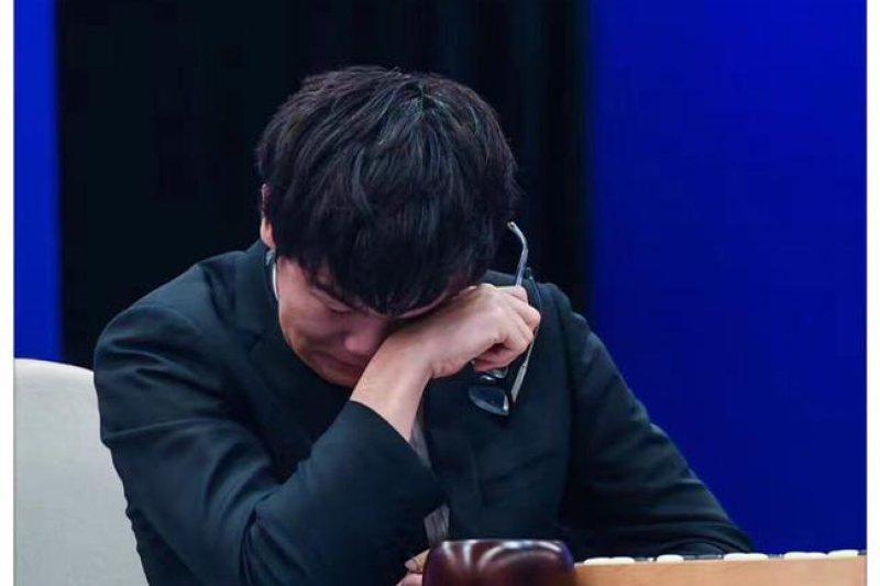 連敗給Alpha Go,柯潔落下男兒淚。(資料照,取自網路)