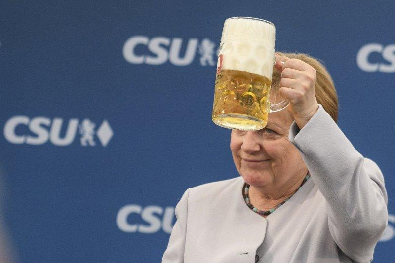 德國總理梅克爾強調,歐洲不能再依靠英國和美國(AP)