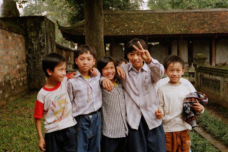 越南河內的孩子們。(Boberger@Wikipedia/CC BY-SA 3.0)