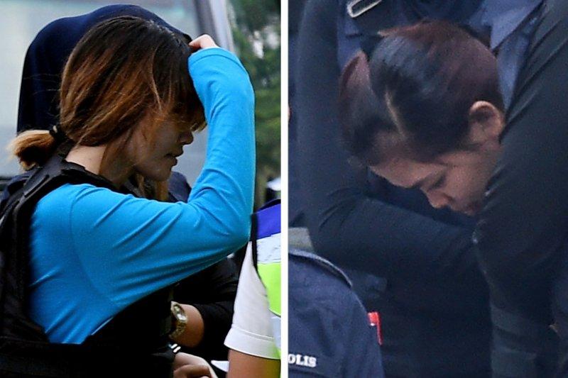 段氏香(左)和西蒂·艾希亞(右)曾表示,他們以為是在參與電視台的整人遊戲節目。(BBC中文網)
