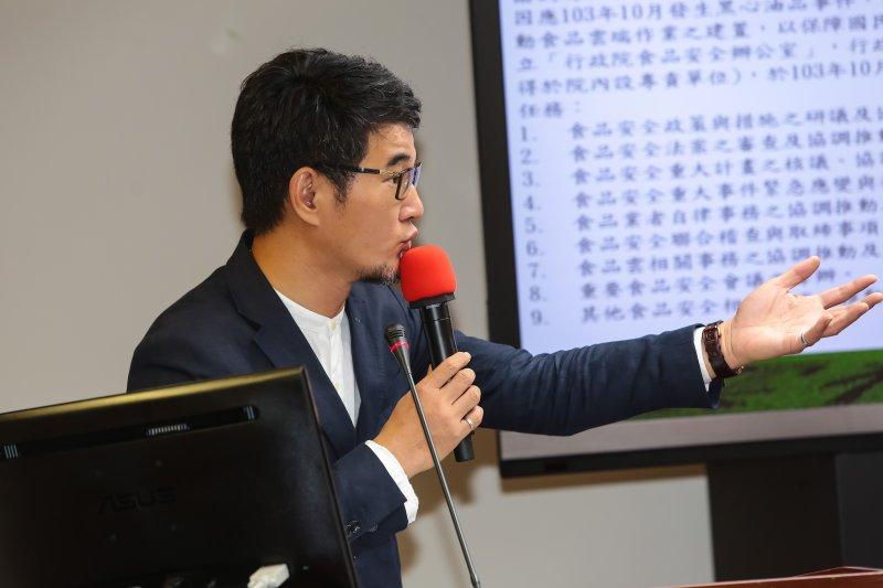 20170531-民進黨立委劉建國31日於立院衛環委員會質詢。(顏麟宇攝)