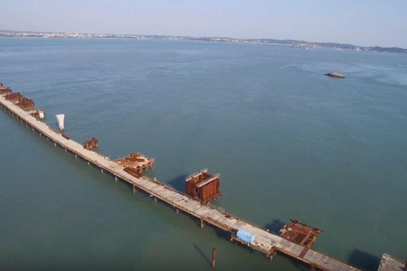 金門大橋。(取自YouTube)