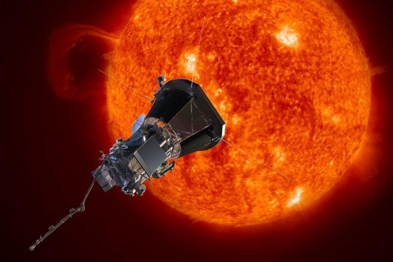 美國NASA宣布2018年將發射太陽探測器,近距離觀測太陽活動。(美聯社)