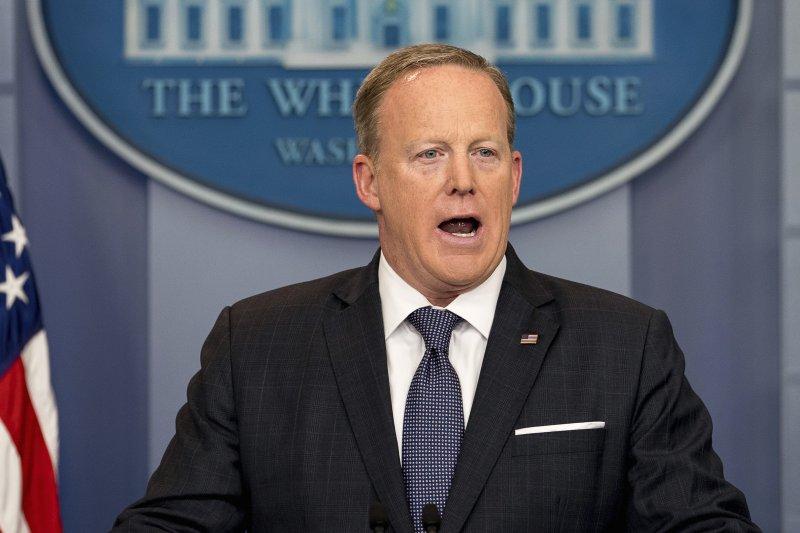 美國白宮發言人史派瑟表明不再回答「通俄門」相關問題(AP)
