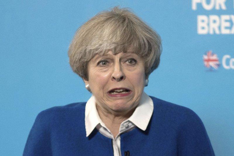 梅伊於4月宣布國會改選,原本預計保守黨將大贏,如今卻出現變化。(美聯社)
