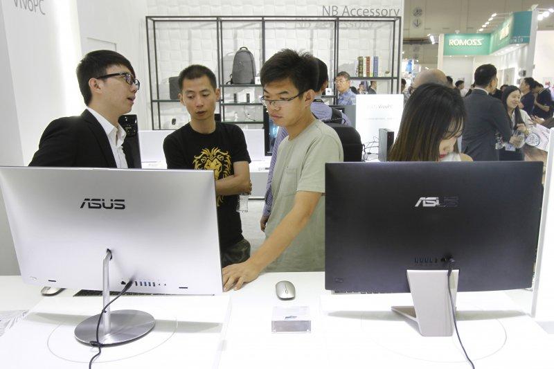 IMD全球競爭力排名,台灣在亞洲地區排名第三,僅次於香港與新加坡,較日本、南韓、中國、越南等周邊國家更高。(AP)