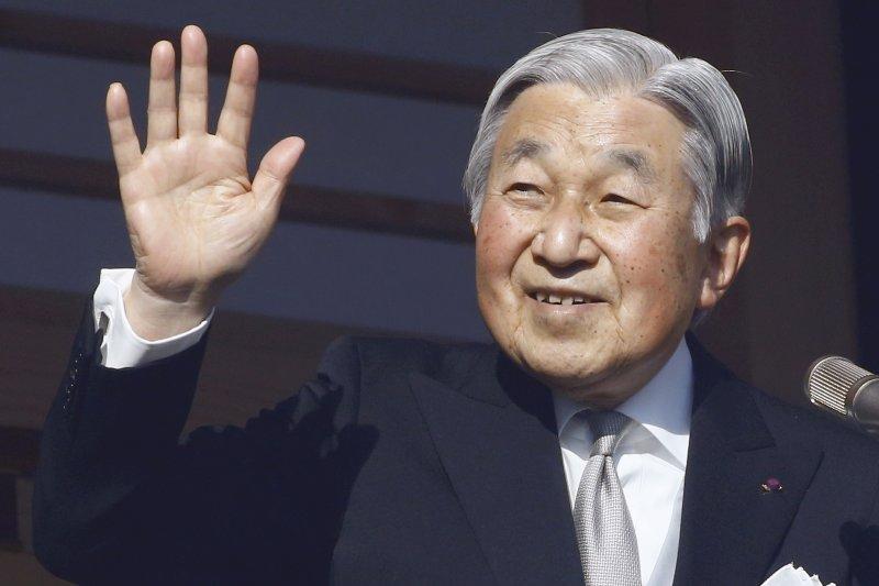 日本明仁天皇(AP)