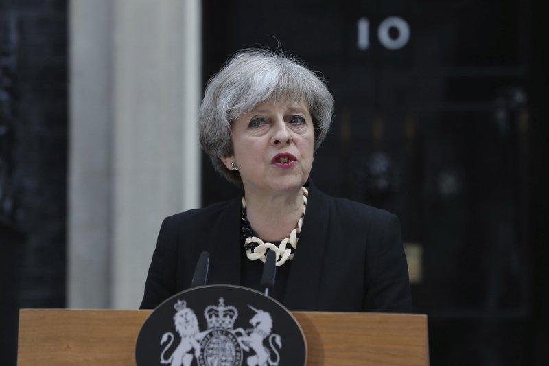 英國首都倫敦3日再度發生恐怖攻擊,造成多人死傷,首相梅伊4日對此發表談話,向伊斯蘭極端主義全面宣戰。(AP)