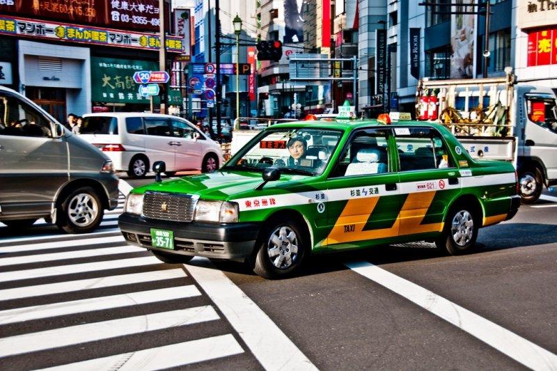 在東京若是時常碰到非搭計程車不可的狀況,那可不是傷腦筋就可以形容了...(圖/Takadanobaba Kurazawa@flickr)