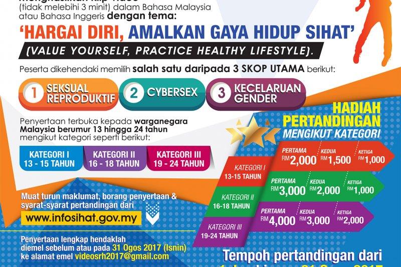 馬來西亞衛生部舉辦影片競賽,主題竟包括「如何預防同性戀」(馬來西亞政府)