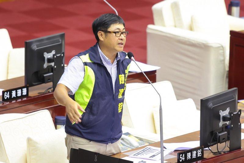 台聯唯一北市議員 陳建銘年底擬以無黨籍參選-風傳媒