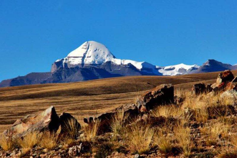 西藏聖山。(張焰老師提供)